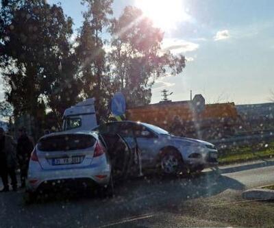 Osmaniye'de iki otomobil çarpıştı: 5'i çocuk, 8 yaralı
