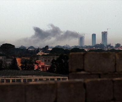 Hafter milisleri, Mitiga Havalimanı'nı grad füzeleriyle vurdu
