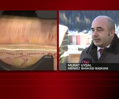 Merkez Bankası Başkanı Uysal CNN Türk canlı yayınında