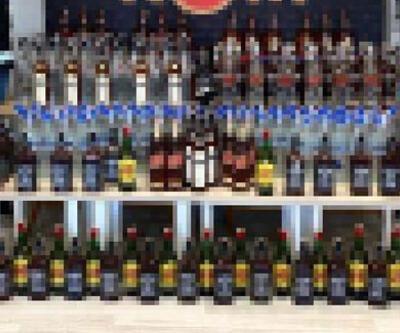 Çanakkale'de sahte içki operasyonu