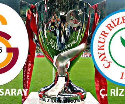 Galatasaray, Çaykur Rizespor kupa maçı hangi kanalda, rövanş saat kaçta canlı izlenecek?