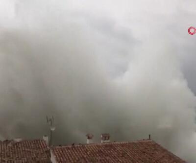 İspanya'yı Gloria fırtınası vurdu
