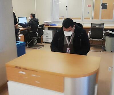Devlet hastanesinde 'Domuz gribi' alarmı! Kırmızı alan kapatıldı...