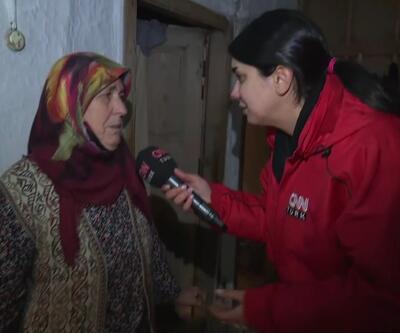 Depremde hasar gören ev mühürlendi