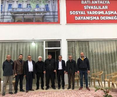 Kumluca'da Sivaslılar Derneği açıldı