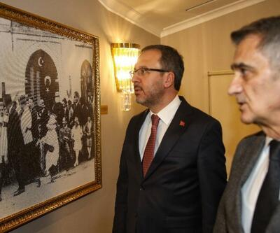 Bakan Kasapoğlu, Şenol Güneş'i ziyaret etti