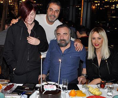 Oktay Kaynarca'ya 55. yaşa özel doğum günü yemeği
