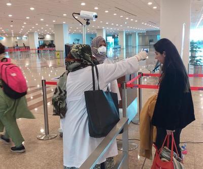 Havalimanlarında sağlık taraması başlatıldı
