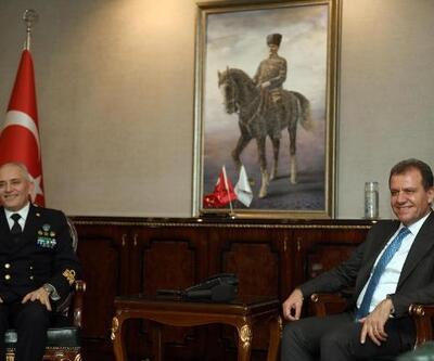 NATO komutanından Başkan Seçer'e ziyaret