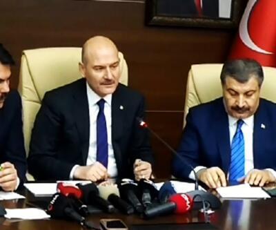 3 bakandan Elazığ'da kriz merkezinde açıklamalar