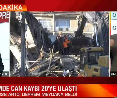 Elazığ depremini uzmanlar böyle yorumladı.. 'Yer kabuğu kırılmış olabilir'