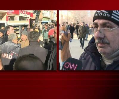 """CNN TÜRK deprem bölgesinde... """"Akrabalarım enkaz altında"""""""