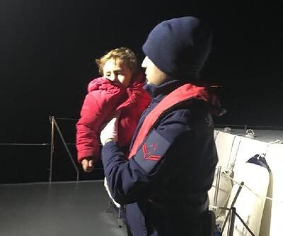 Enez'de 14 kaçak göçmen yakalandı