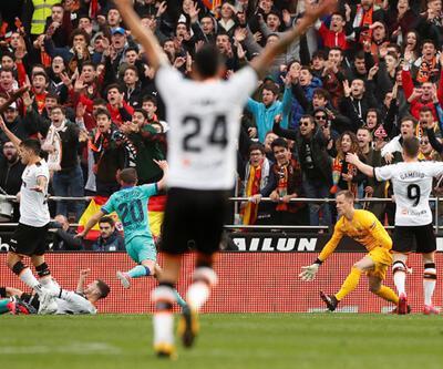 Valencia - Barcelona: 2-0