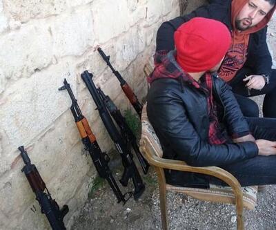 Mahalle halkının korktuğu silahlı gençler, dizi oyuncuları çıktı