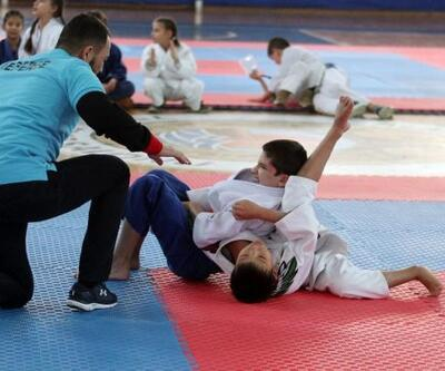 Uluslararası Jiujitsu Turnuvası yapıldı