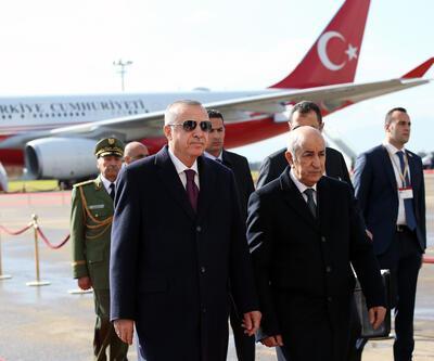 Cumhurbaşkanı Erdoğan, Cezayir'de
