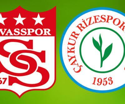 Sivasspor Çaykur Rizespor maçı saat kaçta? Sivas Rize maçı ne zaman?