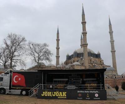 JÖH - JÖAK tanıtım ve satış TIR'ı Edirne'de