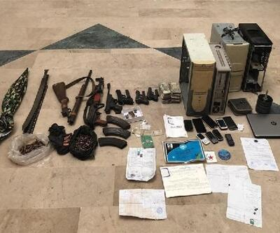 Tel Abyad'da eylem hazırlığında 5 terörist yakalandı