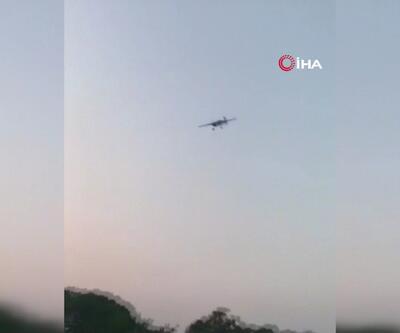 Guatemala'da akrobasi uçağı düştü