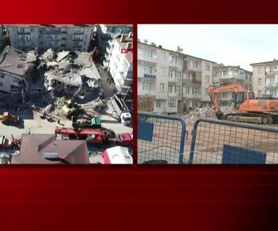 Dilek Apartmanı'nın yanındaki binalar yıkılacak