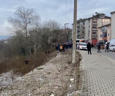 Irmak kenarına yuvarlanan kişi yaralandı