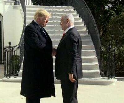 """Beyaz Saray'da """"Yüzyılın anlaşması"""" hazırlıkları"""