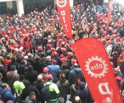Çankaya Belediyesi'nde işçilerden eylem