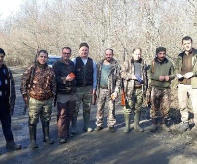 Kırklareli'de 12 avcıya para cezası uygulandı
