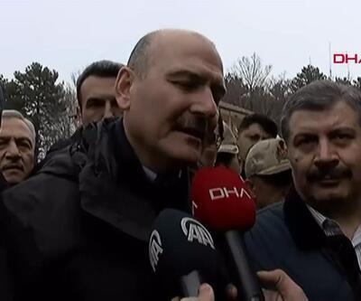 Son dakika... İçişleri Bakanı Süleyman Soylu'dan deprem açıklaması