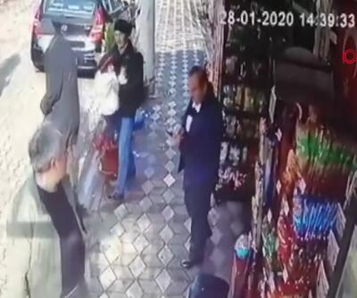 Manisa depremi güvenlik kamerasına böyle yansıdı