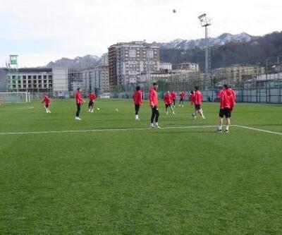 Çaykur Rizespor'da Beşiktaş maçı hazırlığı