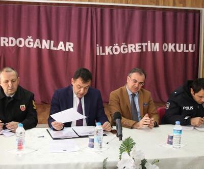 Hacılar'da güvenlik ve muhtarlar toplantısı yapıldı