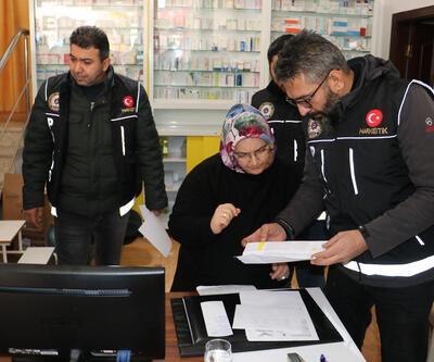Ankara'da eczanelerde 'sentetik ilaç' denetimi yapıldı