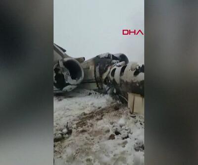 Afganistan'da düşen ABD uçağı