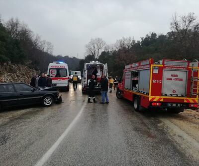 Piknik dönüşü korkunç kaza: 1'i ağır 9 yaralı