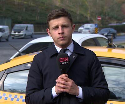 Taksiciler yol kesip evrak sordu