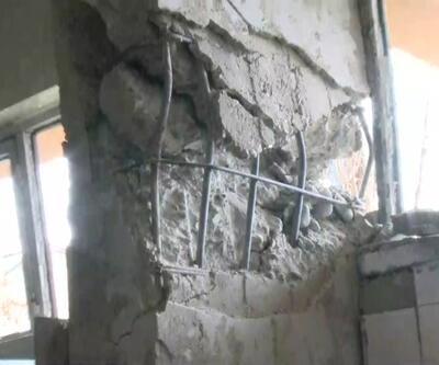 Hasarlı binalar boşaltılıyor