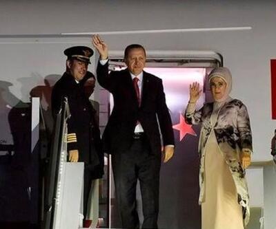 CumhurbaşkanıErdoğanİstanbul'a döndü