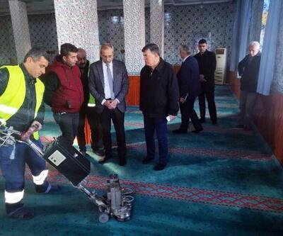 Tarsus'ta ibadethanelerde temizlik