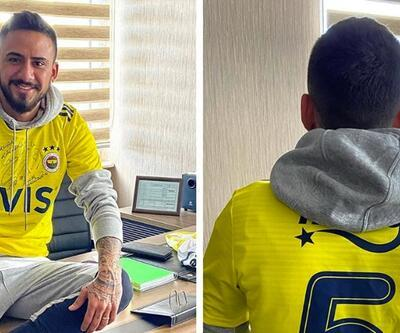 Gökhan Çıra Fenerbahçe formasını giydi