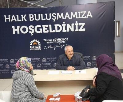 Gebze'de 'Halk Buluşmaları' sorunları çözüyor