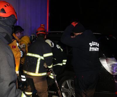 TEM'de peş peşe kazalar: Yaralılar var