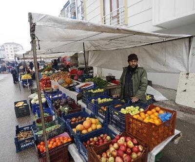 Elazığlı pazarcılardan, depremzedelere destek