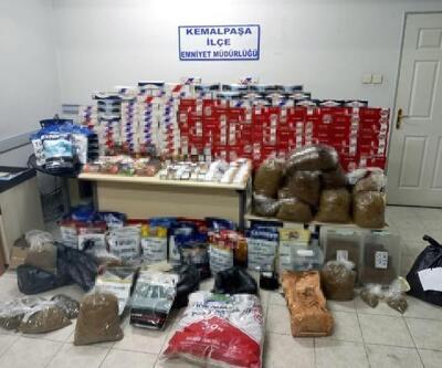 Kemalpaşa'da kaçak tütün operasyonu