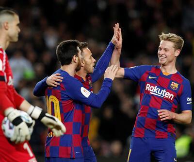 Barcelona Kral Kupası'nda son 8'de