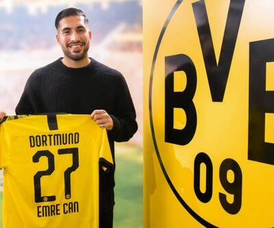 Emre Can Dortmund'a kiralandı