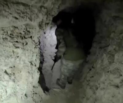 Terörist tünelleri kullanılamaz hale getiriliyor