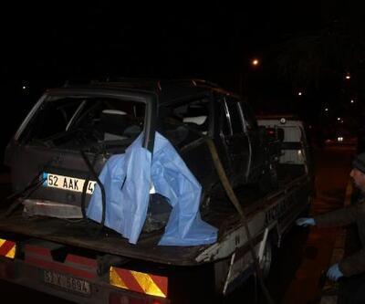 Ordu'da kaldırıma çarpan otomobil, sahile uçtu: 2 ölü, 2 yaralı